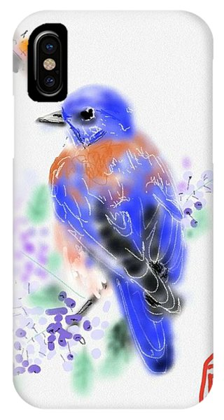 The Bluebird Sings  IPhone Case