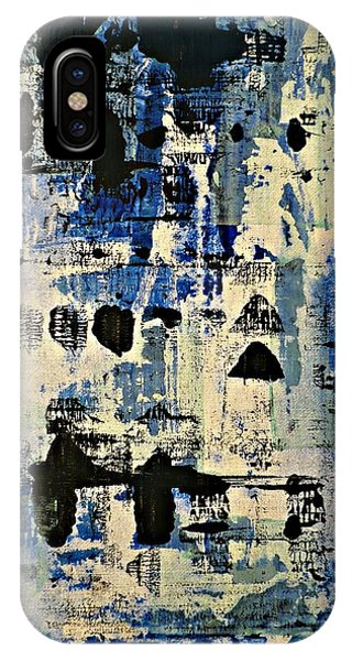 The Blues Abstract IPhone Case