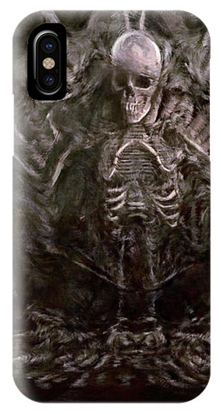 Mtv iPhone Case - The Bone Organ Pipe - The Goonies by Joseph Oland