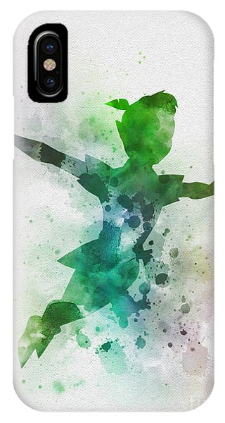 Fairy iPhone Case - The Boy Who Could Fly by My Inspiration