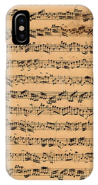 Music iPhone Case - The Brandenburger Concertos by Johann Sebastian Bach