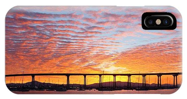 The Break Of Dawn In Coronado IPhone Case
