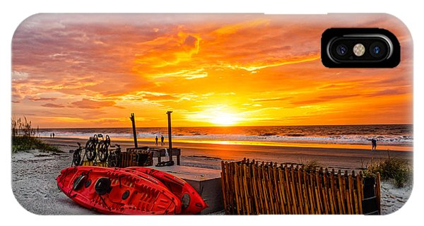 The Break Of Day IPhone Case
