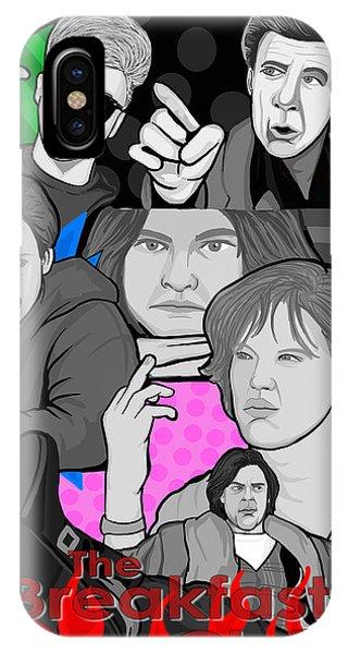 the Breakfast Club 30th anniversary Phone Case by Gary Niles