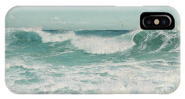 The Breaking Wave IPhone Case
