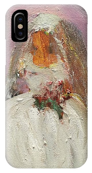 Billy Idol iPhone X Case - The Bride by Penny Mann