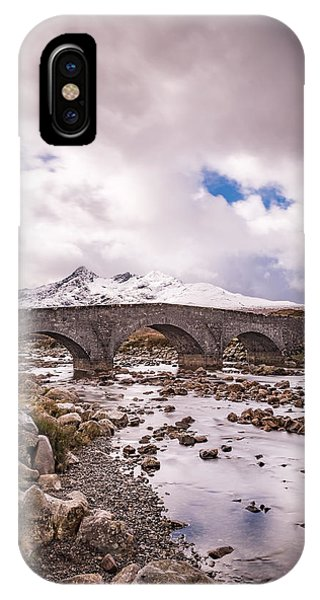 The Bridge At Sligachan On Skye IPhone Case