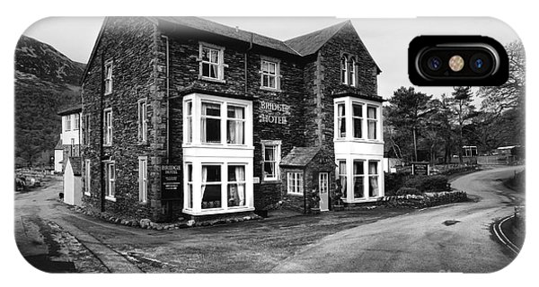 Hotel iPhone Case - The Bridge Hotel, Buttermere by Smart Aviation
