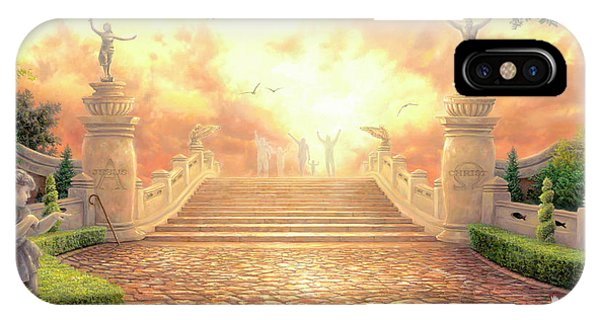 Life Of Christ iPhone Case - The Bridge Of Triumph by Chuck Pinson