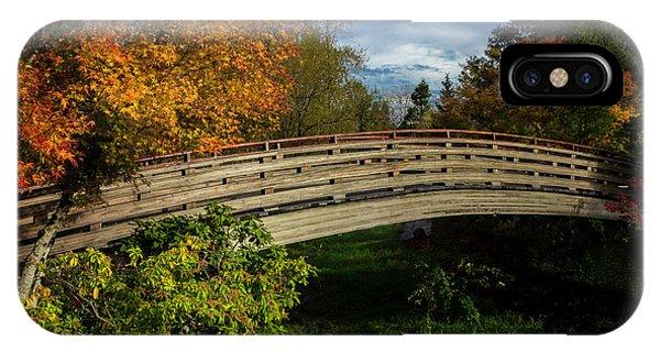The Bridge To The Garden IPhone Case