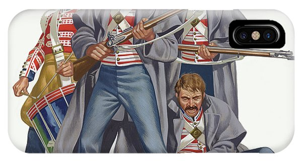 British Empire iPhone Case - The British Army, The Battle Of Inkerman, 1854  by Ron Embleton