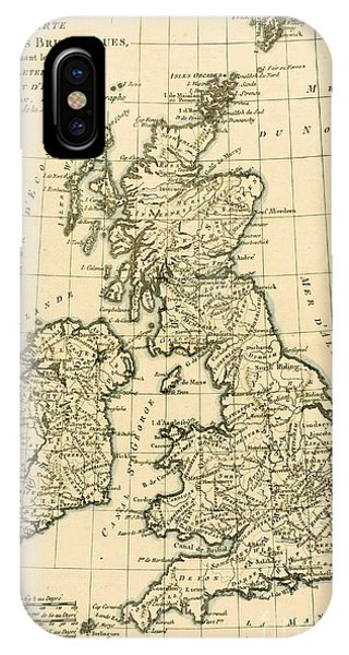 Northern Scotland iPhone Case - The British Isles by Guillaume Raynal