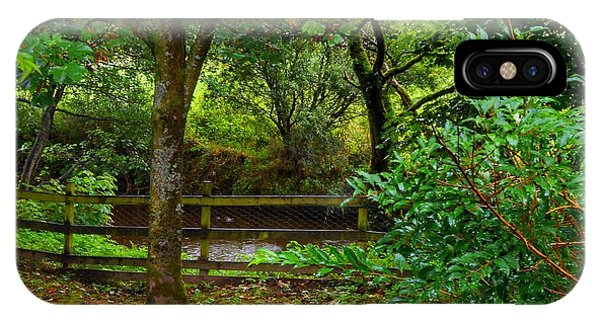 The Brook At Gibbon's Bridge IPhone Case