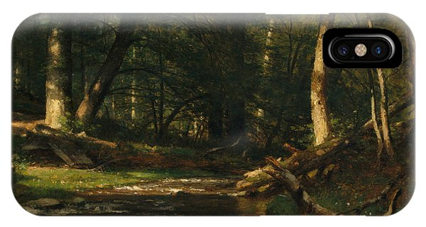 The Brook In The Woods IPhone Case