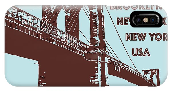 The Brooklyn Bridge, New York, Ny IPhone Case