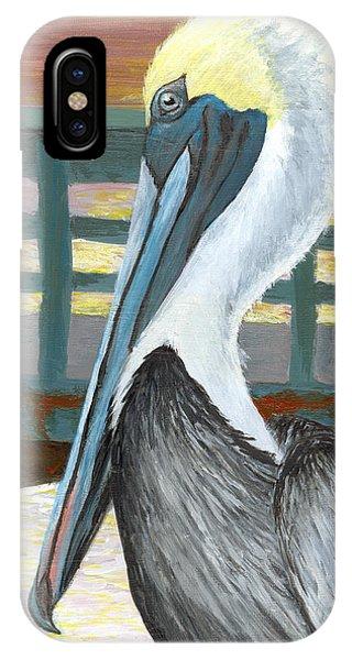 The Brown Pelican IPhone Case