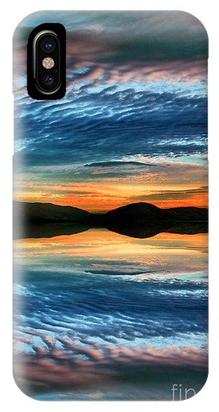 The Brush Strokes Of Evening IPhone Case
