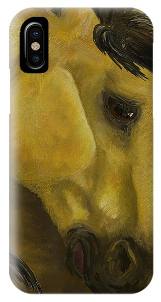 The Buckskin Revisited IPhone Case