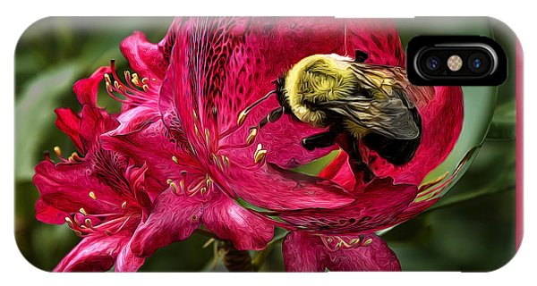 The Bumble Bee IPhone Case