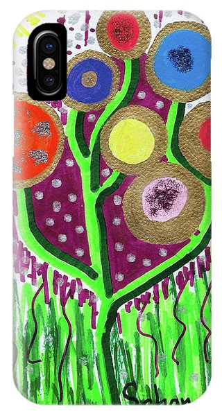 The Button Ball Tree IPhone Case
