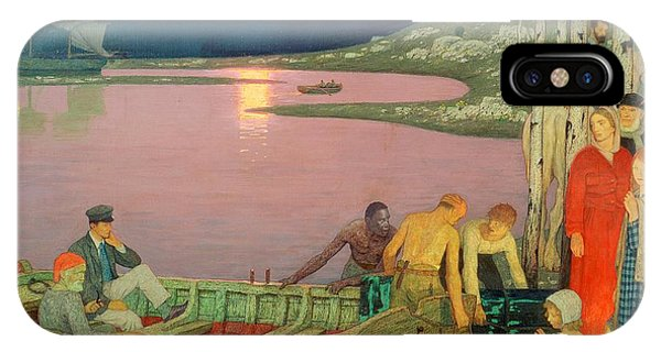 1862 iPhone Case - The Call Of The Sea by Frederick Cayley Robinson