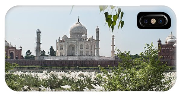 The Calm Behind The Taj Mahal IPhone Case
