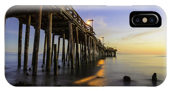The Capitola Pier IPhone Case