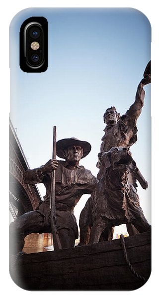 IPhone Case featuring the photograph The Captain Returns by David Coblitz