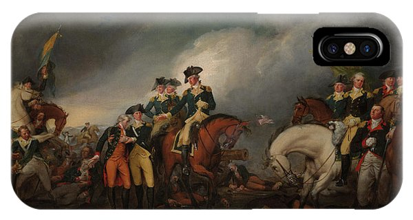iPhone Case - The Capture Of The Hessians At Trenton Dec 26, 1776 by John Trumbull