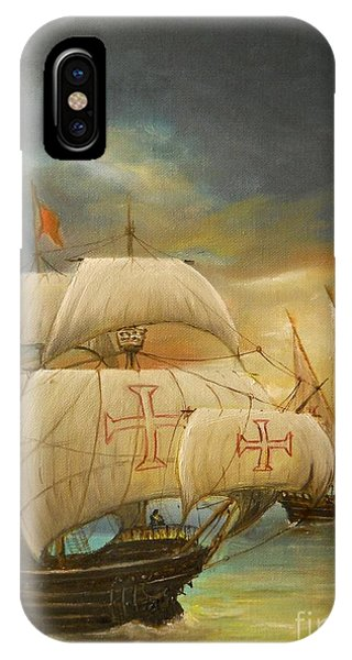 The Caravel IPhone Case