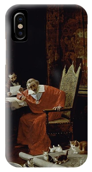 The Cardinal's Leisure  IPhone Case