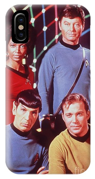 The Cast Of Star Trek IPhone Case