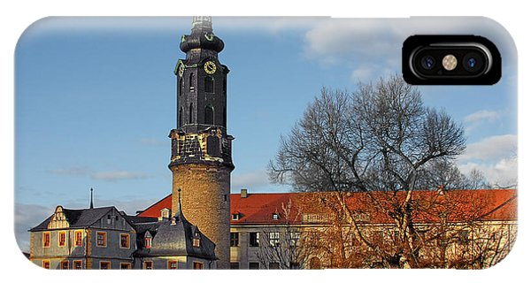 The Castle - Weimar - Thuringia - Germany IPhone Case