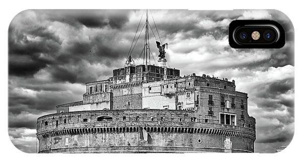 The Castle Of Sant'angelo In Rome IPhone Case