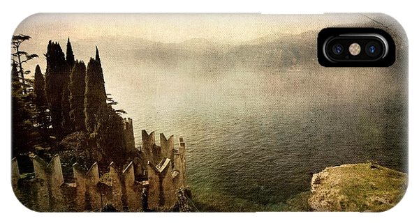 The Castle On The Lake. Malcesine IPhone Case