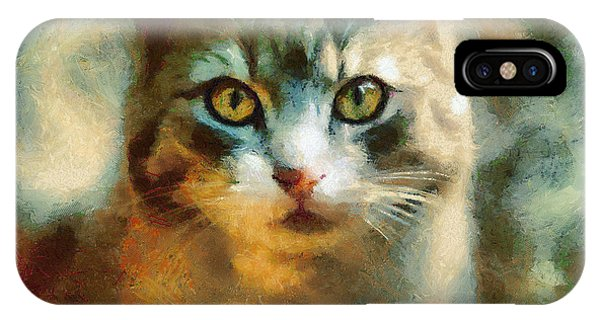 The Cat Eyes IPhone Case