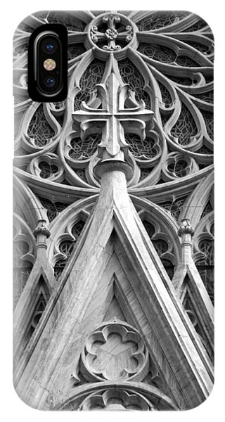 The Cathedral Of St. Patrick Close Up IPhone Case