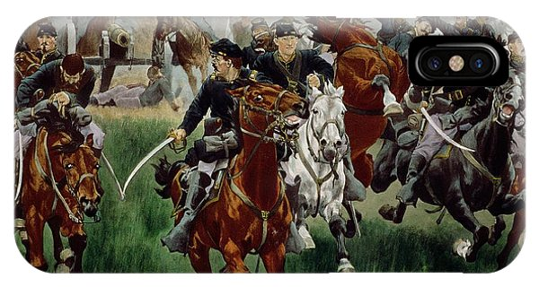 Cavalry iPhone Case - The Cavalry by WT Trego