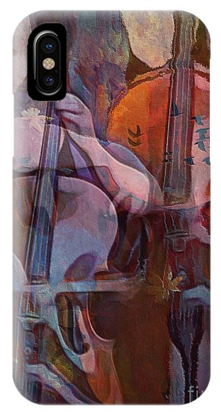 The Cellist IPhone Case