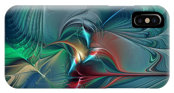 The Center Of Longing-abstract Art IPhone Case