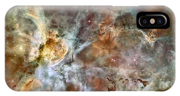 The Central Region Of The Carina Nebula IPhone Case