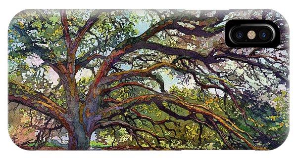 Aggie iPhone Case - The Century Oak by Hailey E Herrera