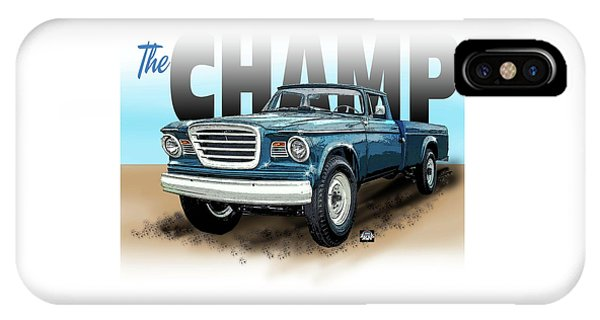 The Champ IPhone Case