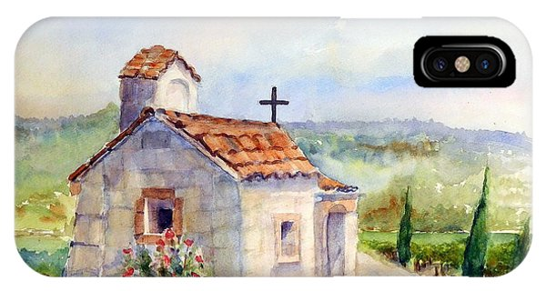 The Chapel - Castello Di Amorosa IPhone Case