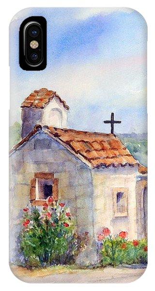 The Chapel - Castello Di Amorosa IPhone Case