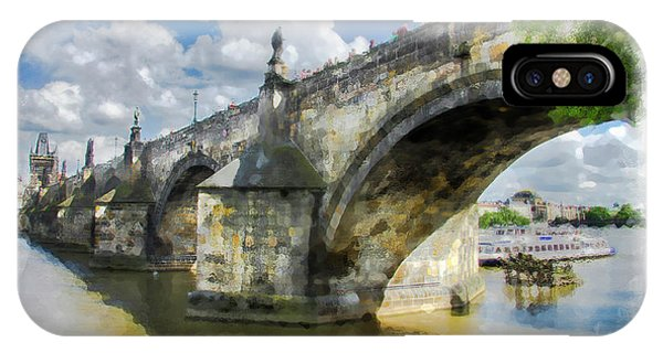 The Charles Bridge - Prague IPhone Case
