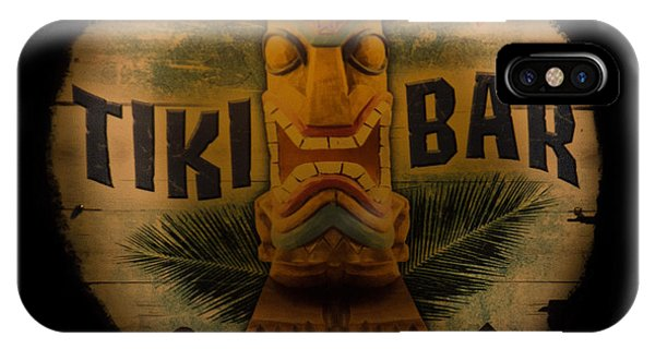 Tiki Bar iPhone Case - The Chill Zone by Trish Tritz