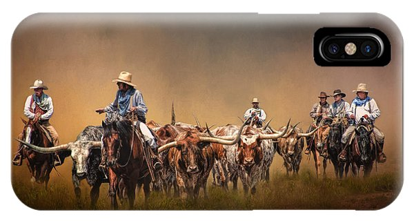 University iPhone Case - The Chisolm Trail by David and Carol Kelly