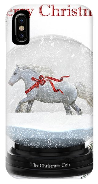 The Christmas Cob IPhone Case