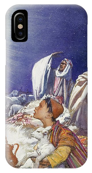 The Christmas Story The Shepherds' Tale IPhone Case